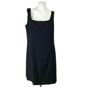 Kensie Pinstripe Sleeveless Sheath Office Dress